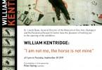 Invitation Kentridge Budapest